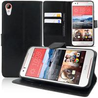 HTC Desire 830/ 830 dual sim: Accessoire Etui portefeuille Livre Housse Coque Pochette support vidéo cuir PU - NOIR