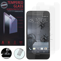 HTC One S9: Lot / Pack de 2 Films de protection d'écran Verre Trempé