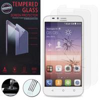 Huawei Y625: Lot / Pack de 2 Films de protection d'écran Verre Trempé