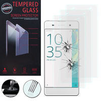 Sony Xperia XA/ XA Dual: Lot / Pack de 3 Films de protection d'écran Verre Trempé