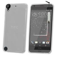 HTC Desire 530/ Desire 630: Accessoire Housse Etui Coque gel UltraSlim et Ajustement parfait + mini Stylet - TRANSPARENT
