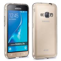 Samsung Galaxy J1 (2016)/ Duos/ J120F J120H J120M J120M J120T: Accessoire Housse Etui Coque gel UltraSlim et Ajustement parfait - TRANSPARENT