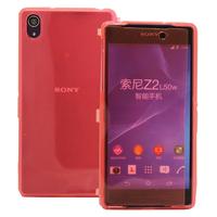 Sony Xperia Z2 D6502 D6503 D6543: Accessoire Coque Etui Housse Pochette silicone gel Portefeuille Livre rabat - ROSE