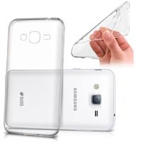 Samsung Galaxy J3 Pro: Accessoire Housse Etui Coque gel UltraSlim et Ajustement parfait - TRANSPARENT