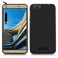 CUBOT Note S 5.5'': Accessoire Housse Etui Pochette Coque silicone gel + mini Stylet - NOIR