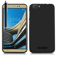 CUBOT Note S 5.5'': Accessoire Housse Etui Pochette Coque silicone gel + Stylet - NOIR