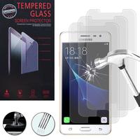 Samsung Galaxy J3 Pro: Lot / Pack de 3 Films de protection d'écran Verre Trempé