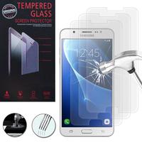 Samsung Galaxy J7 (2016) J710F/ Duos/ J710FN/ J710M/ J710H: Lot / Pack de 3 Films de protection d'écran Verre Trempé