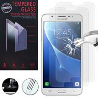 Samsung Galaxy J7 (2016) J710F/ Duos/ J710FN/ J710M/ J710H: Lot / Pack de 2 Films de protection d'écran Verre Trempé