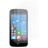 Acer Liquid M330/ Liquid M320: Lot / Pack de 3x Films de protection d'écran clear transparent