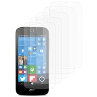 Acer Liquid M330/ Liquid M320: Lot / Pack de 5x Films de protection d'écran clear transparent