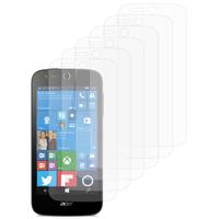 Acer Liquid M330/ Liquid M320: Lot / Pack de 6x Films de protection d'écran clear transparent