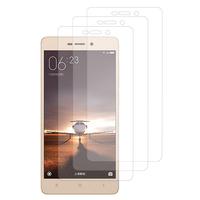Xiaomi Redmi 3s/ Redmi 3x/ Redmi 3 Pro: Lot / Pack de 3x Films de protection d'écran clear transparent