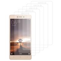 Xiaomi Redmi 3s/ Redmi 3x/ Redmi 3 Pro: Lot / Pack de 5x Films de protection d'écran clear transparent