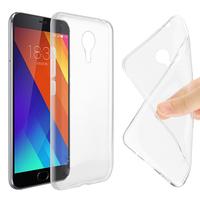 Meizu MX5: Accessoire Housse Etui Coque gel UltraSlim et Ajustement parfait - TRANSPARENT