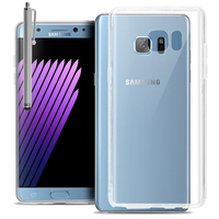 Samsung Galaxy Note7 N930F/ Note 7 Duos/ Note7 (USA) N930: Accessoire Housse Etui Coque gel UltraSlim et Ajustement parfait + Stylet - TRANSPARENT