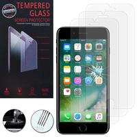 """Apple iPhone 7 Plus 5.5"""" (non compatible iPhone 7 4.7''): Lot / Pack de 3 Films de protection d'écran Verre Trempé"""
