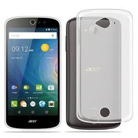 Acer Liquid Z530/ Z530S: Housse Coque TPU Silicone Gel Souple Translucide Ultra Fine - TRANSPARENT