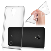 Wiko Tommy: Housse Coque TPU Silicone Gel Souple Translucide Ultra Fine - TRANSPARENT