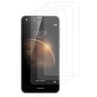 Huawei Y6 Elite 4G (non compatible Huawei Y6/ Y6 Pro): Lot / Pack de 3x Films de protection d'écran clear transparent