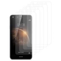 Huawei Y6 Elite 4G (non compatible Huawei Y6/ Y6 Pro): Lot / Pack de 5x Films de protection d'écran clear transparent