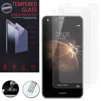 Huawei Y6 Elite 4G (non compatible Huawei Y6/ Y6 Pro): Lot / Pack de 2 Films de protection d'écran Verre Trempé
