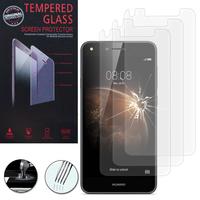 Huawei Y6 Elite 4G (non compatible Huawei Y6/ Y6 Pro): Lot / Pack de 3 Films de protection d'écran Verre Trempé