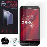 """Asus Zenfone 2 Laser ZE600KL/ ZE601KL 6.0"""": Lot / Pack de 2 Films de protection d'écran Verre Trempé"""