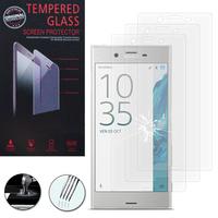 """Sony Xperia XZ 5.2""""/ Dual F8332: Lot / Pack de 3 Films de protection d'écran Verre Trempé"""