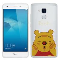 Huawei Honor 5c/ Honor 7 Lite/ Huawei GT3: Coque Housse silicone TPU Transparente Ultra-Fine Dessin animé jolie - Winnie the Pooh