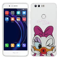 "Huawei Honor 8 5.2"" (non compatible Honor V8): Coque Housse silicone TPU Transparente Ultra-Fine Dessin animé jolie - Daisy Duck"