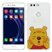"Huawei Honor 8 5.2"" (non compatible Honor V8): Coque Housse silicone TPU Transparente Ultra-Fine Dessin animé jolie - Winnie the Pooh"