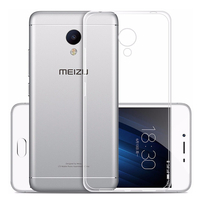 Meizu M3: Accessoire Housse Etui Coque gel UltraSlim et Ajustement parfait - TRANSPARENT