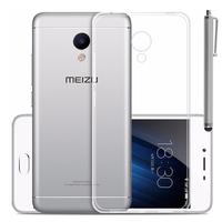 Meizu M3: Accessoire Housse Etui Coque gel UltraSlim et Ajustement parfait + Stylet - TRANSPARENT