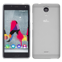 Wiko U Feel Lite: Housse Coque TPU Silicone Gel Souple Translucide Ultra Fine - TRANSPARENT