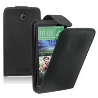 HTC Desire 510: Accessoire Etui Housse Coque Pochette simili cuir - NOIR
