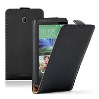 HTC Desire 510: Accessoire Housse coque etui cuir fine slim - NOIR