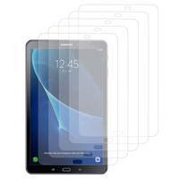 "Samsung Galaxy Tab A6 10.1"" SM-T580NZWAXEF/ T580NZKAXEF/ T585NZWAXEF: Lot / Pack de 5x Films de protection d'écran clear transparent"
