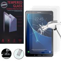 """Samsung Galaxy Tab A6 10.1"""" SM-T580NZWAXEF/ T580NZKAXEF/ T585NZWAXEF: Lot / Pack de 2 Films de protection d'écran Verre Trempé"""