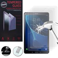 """Samsung Galaxy Tab A6 10.1"""" SM-T580NZWAXEF/ T580NZKAXEF/ T585NZWAXEF: Lot / Pack de 3 Films de protection d'écran Verre Trempé"""