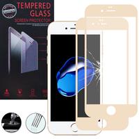 """Apple iPhone 7 4.7"""" (non compatible iPhone 7 Plus 5.5''): Lot / Pack de 2 Films de protection d'écran Verre Trempé"""