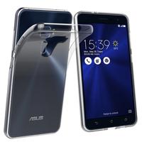"""Asus Zenfone 3 ZE520KL 5.2"""": Accessoire Housse Etui Coque gel UltraSlim et Ajustement parfait - TRANSPARENT"""
