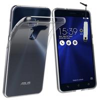 """Asus Zenfone 3 ZE520KL 5.2"""": Accessoire Housse Etui Coque gel UltraSlim et Ajustement parfait + mini Stylet - TRANSPARENT"""