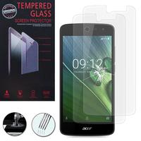 """Acer Liquid Zest Z525/ Zest 4G Z528 5.0"""": Lot / Pack de 2 Films de protection d'écran Verre Trempé"""