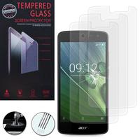 """Acer Liquid Zest Z525/ Zest 4G Z528 5.0"""": Lot / Pack de 3 Films de protection d'écran Verre Trempé"""