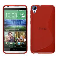 HTC Desire 820/ 820 Dual/ 820s Dual/ 820q Dual: Accessoire Housse Etui Pochette Coque S silicone gel - ROUGE