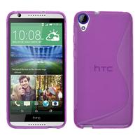 HTC Desire 820/ 820 Dual/ 820s Dual/ 820q Dual: Accessoire Housse Etui Pochette Coque S silicone gel - VIOLET