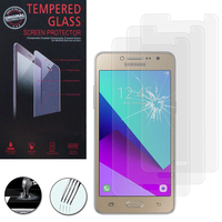 Samsung Galaxy Grand Prime Plus/ Grand Prime (2016)/ Galaxy J2 Prime/ SM-G532F G532M G532G : Lot / Pack de 3 Films de protection d'écran Verre Trempé