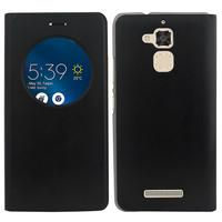 """Asus Zenfone 3 Max ZC520TL 5.2"""": Accessoire Coque Etui Housse Pochette Plastique View Case - NOIR"""
