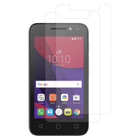 "Alcatel Pixi 4 (4) 4.0"": Lot / Pack de 2x Films de protection d'écran clear transparent"